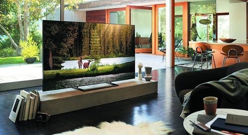Samsung's QLED TVs Blend into your Living Room Décor
