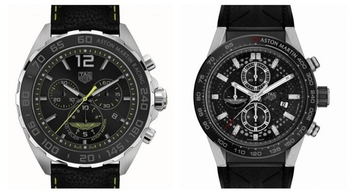 Tag Heuer Partners with Aston Martin for Special Edition Watches