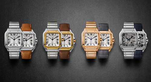 Santos De Cartier Watch Only Available on Mr Porter