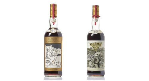 60-Year-Old Macallan Whiskeys Set to Fetch $500k at Auction