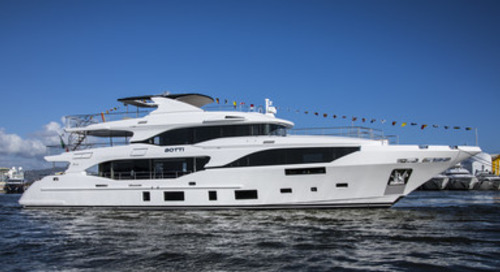 Benetti Unveil Third Mediterraneo 116: M/Y Botti