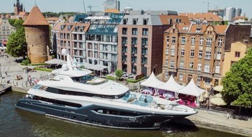 Conrad Shipyard Delivers Newly Christened Viatoris