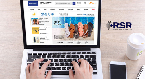 Press Release: RETAIL SYSTEMS RESEARCH PUBLISHES NEW REPORT ON ECOMMERCE PERFORMANCE & SHOPPER EXPERIENCE