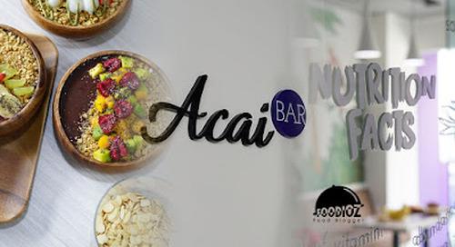 Acai Bar, Senopati, South Jakarta