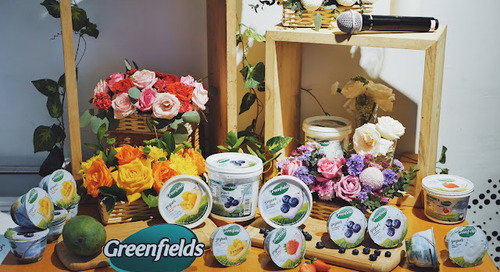 GREENFIELDS YOGURT LAUNCHING