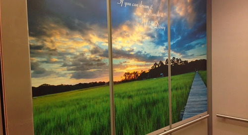 HealthSouth Rehabilitation Hospital of Charleston Elevator Graphic