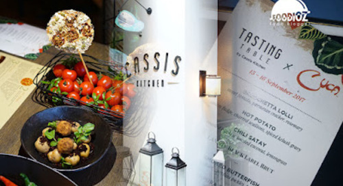 Cassis Kitchen ft. Cuca Tasting Table, Central Jakarta