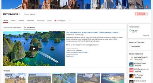 7 Video yang bikin kamu pingin Keliling Indonesia.