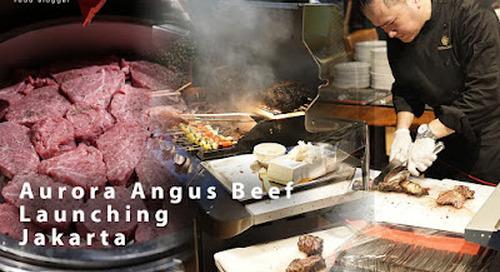 Aurora Beef Launch, Whiz Prime Hotel, North Jakarta