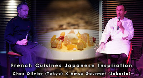 French Cuisines With Japanese Inspiration, Amuz Gourmet, South Jakarta