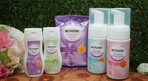 (Bahasa Indonesia) Review: Betadine Feminine Wash - Foam, Liquid, & Wipes