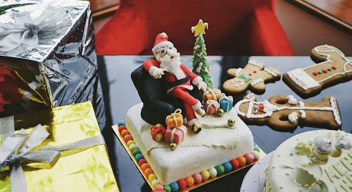CHRISTMAS SET MENU AT ROSSO SHANGRILA JAKARTA