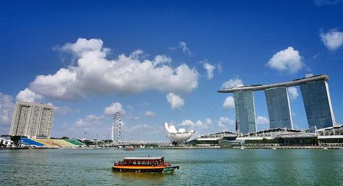 Jalan2 ke Singapore sambil belajar.