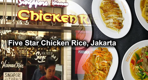 Five Star Chicken Rice, Senayan City, Central Jakarta