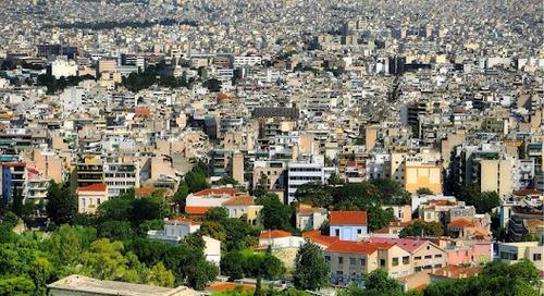 Keindahan Kota Athena, Yunani.
