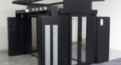 How data center pod frames can shorten IT room deployment time by over 20%