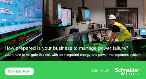 Reduce your business risk with an Energy and Power Management System (EPMS)