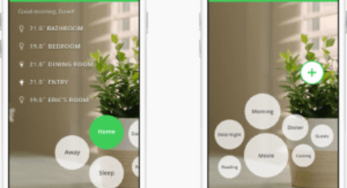 Connect your home to simplify everyday living