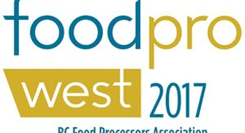 Join SYSPRO Canada at FoodProWest 2017 on June 8th