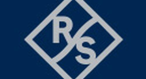 Rohde & Schwarz addresses 5G R&D with internal 1.2 GHz analysis bandwidth in the R&S FSW signal and spectrum analyzer
