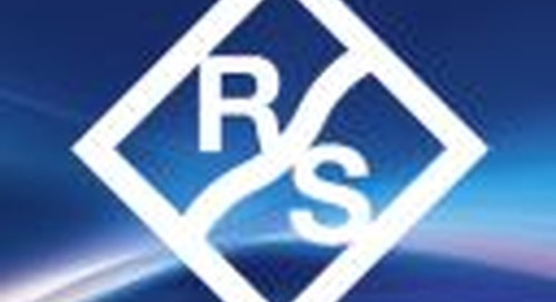 Rohde & Schwarz first test system selected by Qualcomm to characterize 5G RF transceiver