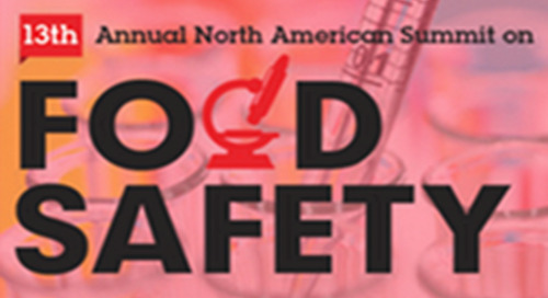 Will you be attending the North American Summit on Food Safety?