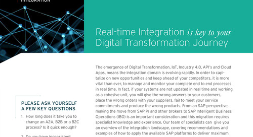 Real-Time Integration