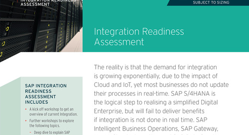 Integration Readiness Assessment