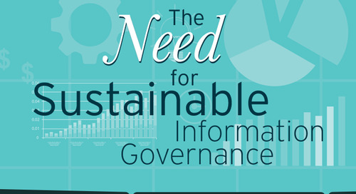 The Need for Sustainable Information Governance