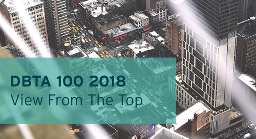 DBTA 100 2018 - VIEW FROM THE TOP: BackOffice Associates