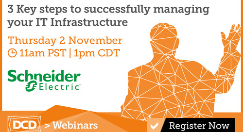 3 Key Steps to Successfully Managing your IT Infrastructure Webinar - November 2, 2017