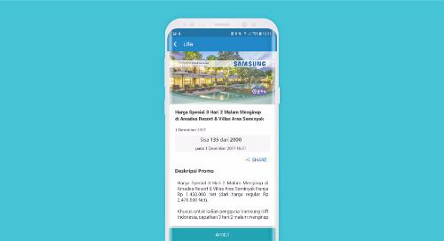 Harga Spesial 3 Hari 2 Malam Menginap di Amadea Resort & Villas Area Seminyak