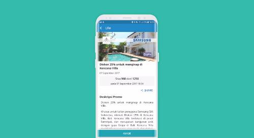 Diskon 25% untuk Menginap di Kencana Villa