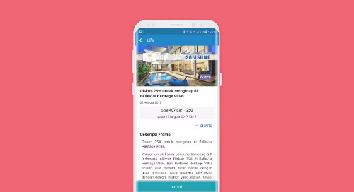 Diskon 25% untuk Menginap di Bellevue Heritage Villas