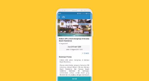 Diskon 25% untuk menginap di Berawa Beach Residence