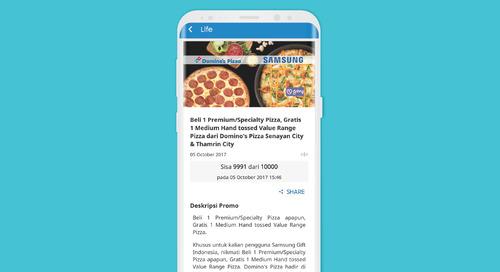 Dapatkan Dua Pizza Hanya dengan Rp80 Ribu di Domino's Pizza