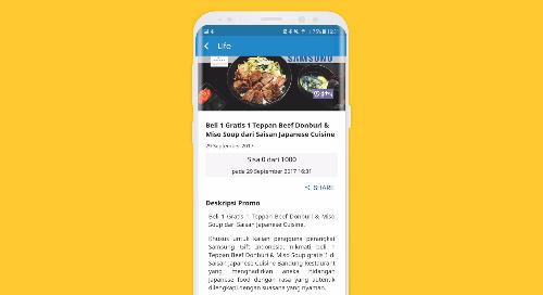 Beli 1 Gratis 1 Teppan Beef Donburi & Miso Soup dari Saisan Japanese Cuisine