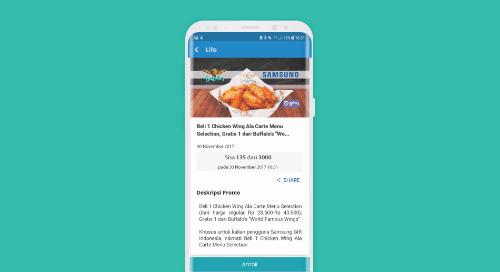 "Beli 1 Chicken Wing Ala Carte Menu Selection, Gratis 1 dari Buffalo's ""World Famous Wings"""