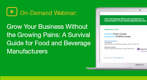 Discover key strategies and considerations for transforming your food and beverage business