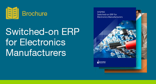 Optimize Management and Planning with Improved Visibility for Electronics Manufacturers