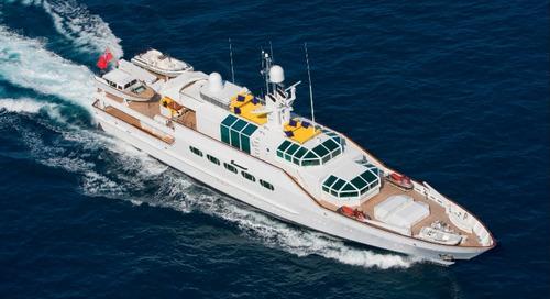 KK Superyachts Announces Iconic Feadship M/Y Azteca for Sale