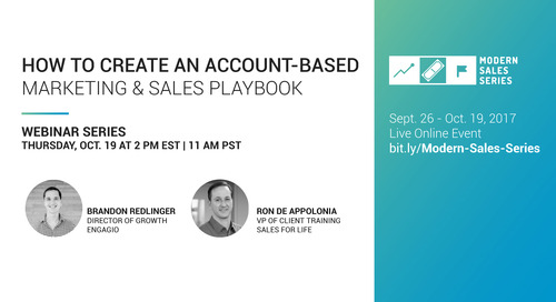 How To Create An Account-Based Sales and Marketing Playbook