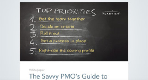 The Savvy PMO's Guide to Prioritization