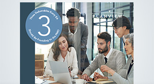 Three Deliverables Every Enterprise Architect Should Be Providing to the Project Management Office