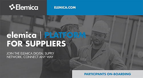 elemica | PLATFORM for Suppliers