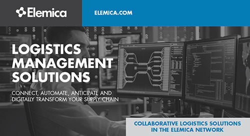 Elemica Logistics Management Solution