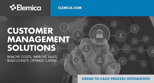 Elemica Customer Management Solution