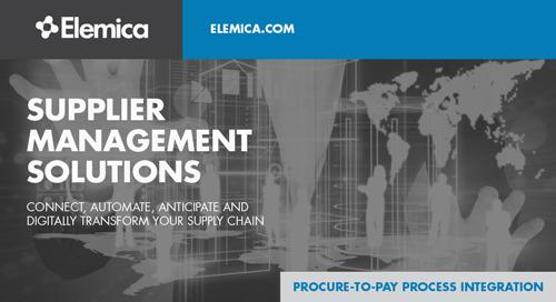 Supplier Management Solutions