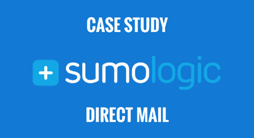 How Sumo Logic Used Direct Mail to Increase Pipeline 27%