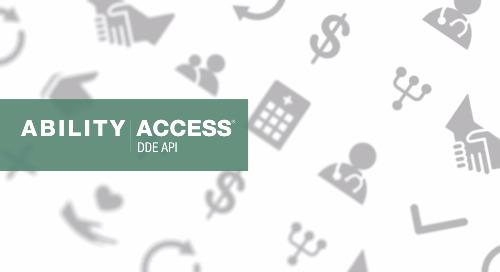 [Demo] ABILITY | ACCESS®DDE API